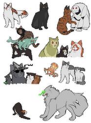 TSS: Saturday Cats by NightfallenHorizon