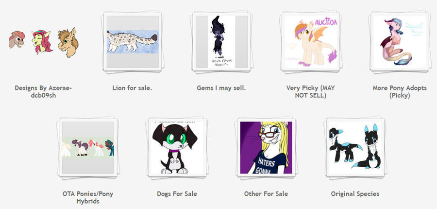 OTA Sta.sh adopts (OPEN/MORE ALWAYS ADDED) by Claire-Cooper
