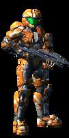 Mebius Halo 4 Armor by Master-MAG00
