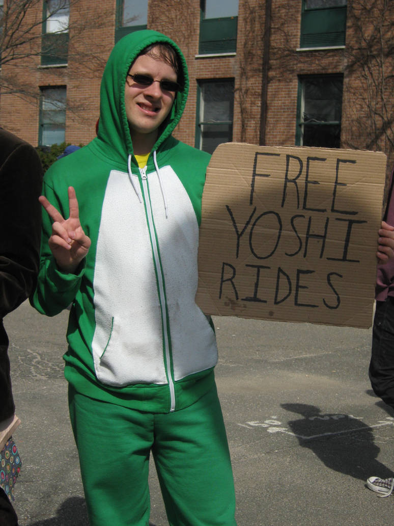 Yoshi Cosplay By Anime King Zi2 On Deviantart