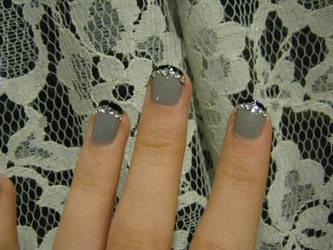 Dark Princess Nails by RhodyGunn