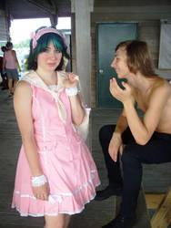 Sailor Lolita In Pink by RhodyGunn