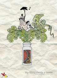 My world in a bottle... by RoahDesign