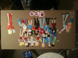 Glee Paper Dolls by adwooddesigns