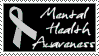 Mental health awareness stamp by Superspud