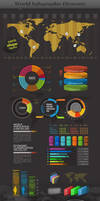 World - Infographic Elements by ranfirefly