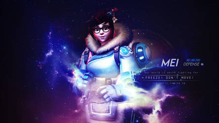 Mei Wallpaper - Overwatch by Gramcyyy