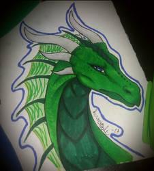 Green Dragon by Kuunsirpale