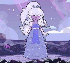 Violet Star Sapphire by Kuunsirpale