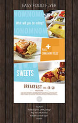Restaurant Flyer by snmsnl