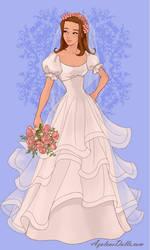 Sandy in her Wedding Dress by stephgomz04