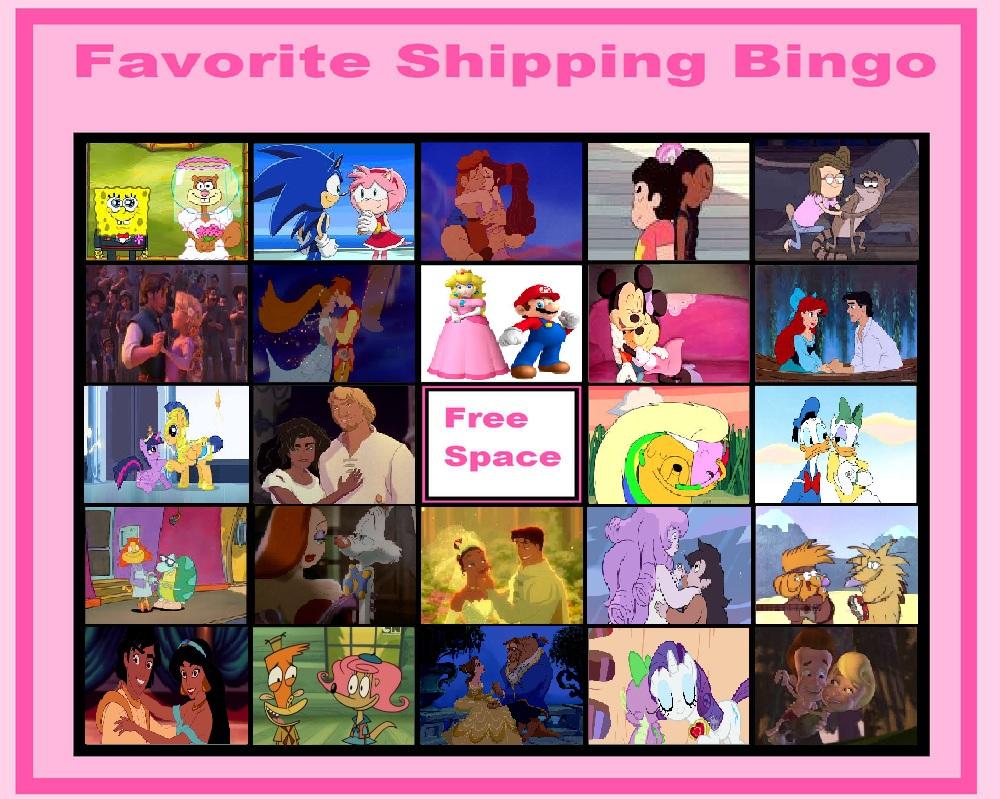 Favorite Shipping Bingo by stephgomz04