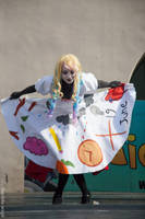 DHMIS Paige the Notepad Cosplay 2 by AshesAndRainbows
