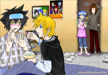 KH BBS - Is That...Porridge?? by dream-of-infinity