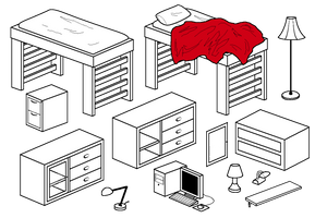 Furniture Compilation 2 by Blizzriel