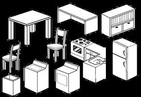 Furniture Compilation 3 by Blizzriel