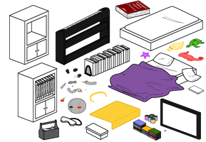 Furniture Compilation 5 by Blizzriel