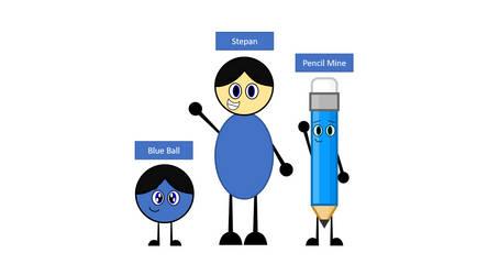 My main characters by Stepan-Mine