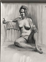 Life drawing 2 hours by ventimocha