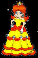 Princess Daisy Collab Entry by SilverxYoshi