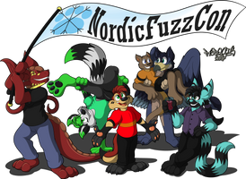 NordicFuzzCon Friends by Marquis2007