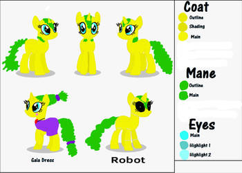 My OC reference sheet Part 1/2 by LunaBruceYT