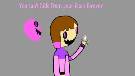(Flipaclip) You can't hide from your fears forever by LunaBruceYT