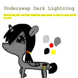 Underswap Dark Lightning Reference Sheet by LunaBruceYT