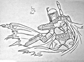 Boba fett by Sage-the-Ghoul