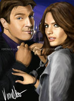 Beckett and Castle by verkoka