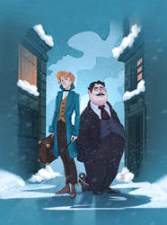 Fantastic beasts and where to find them by Icaru-Owl