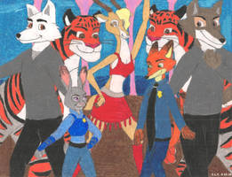 Zoo Dance by SummerShe-Wolf