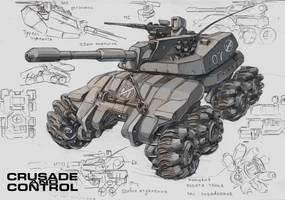 Tank Drone by TugoDoomER