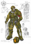 UC light soldier color scheme by TugoDoomER