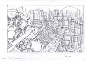 RC city sketch by TugoDoomER