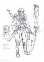 militiaman by TugoDoomER
