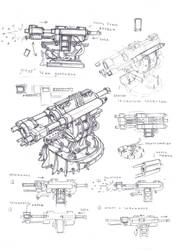 Flak cannon turret by TugoDoomER