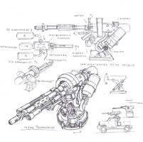 Chemreactive cannon turret by TugoDoomER