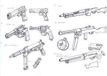 Pol Weapons by TugoDoomER
