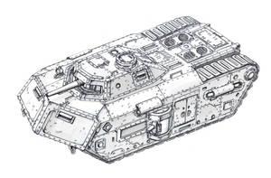 T2B Sigurd breakthrough tank (clear) by TugoDoomER