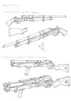 Inertial shotguns by TugoDoomER