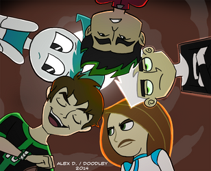 Team Teen Colored by Doodley