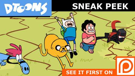 Team Teen: CAFG Part 4 Sneak Peek by Doodley