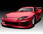 Midnight Club 2 Red Car by daul