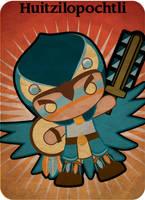 Huitzilopochtli by mictlantectli