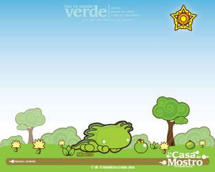 Mostro Verde by mictlantectli