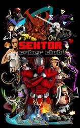 Sektor Cyber Club poster by Batonya12561