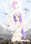 giantess angel by xnr2011
