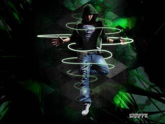 Powerful Green by Graffe-EX