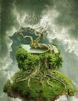 A Treehouse by Graffe-EX
